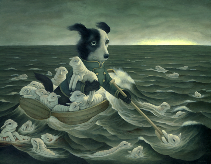 The-Weary-Shepherd-Heather-Watts-painting
